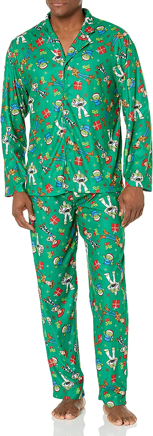 Disney Men's Toy Story Holiday Family Sleepwear Collection