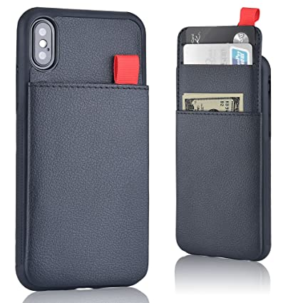 huge discount 5a9ec 61a82 iPhone X Wallet Case - [Hidden Wallet Phone Case] MANGATA Triton ...