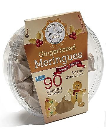 Original Meringue Cookies (Gingerbread) • 90 calories per serving, Gluten Free, Fat
