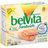 Belvita Breakfast Sandwich, Vanilla Yogurt Crème, 8.8 Ounce