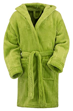 0f64d053287e7 Peignoir de bain à capuche   Robes de chambre Enfant Fille Garçon Serviette  de plage exclussif