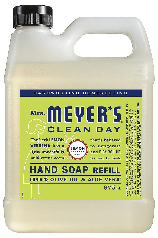 Mrs. Meyer's Clean Day Hand Soap Refill, Lemon Verbena - 975ml SC Johnson 699117