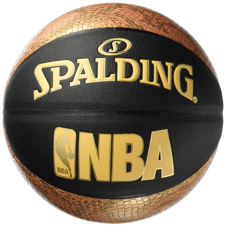 Spalding NBA SNAKE SZ.7 (76-039Z) - schwarz/gold 7.0 SPALG|#Spalding 3001551012617