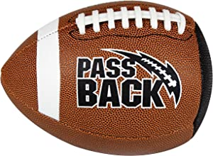Passback Official Composite Football, Ages 14+, High School Training Football