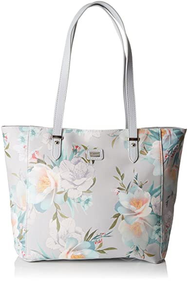 Damen 5733-3 Tote, Grau (L Grey), 15x30x34 centimeters David Jones