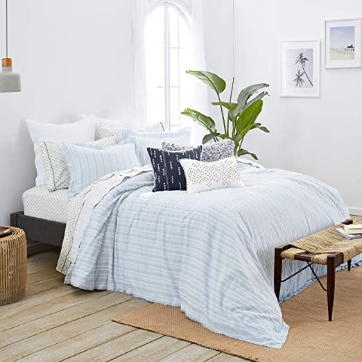 Splendid Home Pacifica Duvet Set King Atmosphere Blue