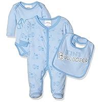 Twins Baby-Mädchen Body Starter-Kit 3er Pack mit Print