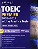 Toeic Premier with 4 Practice Tests: Online + Book + CD (Kaplan Test Prep)