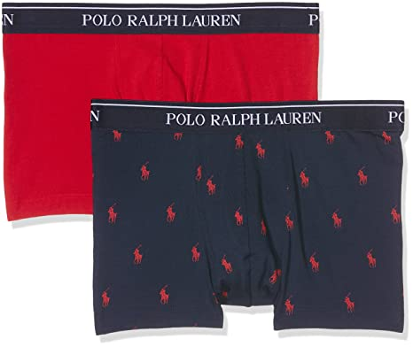 Polo Ralph Lauren 2 Pack Trunk, Bañador para Hombre, (RD/NVY App ...