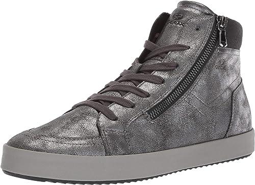 Consulado longitud preparar  Amazon.com | Geox Women's Blomiee 1 Fashion High Top Sneaker | Fashion  Sneakers