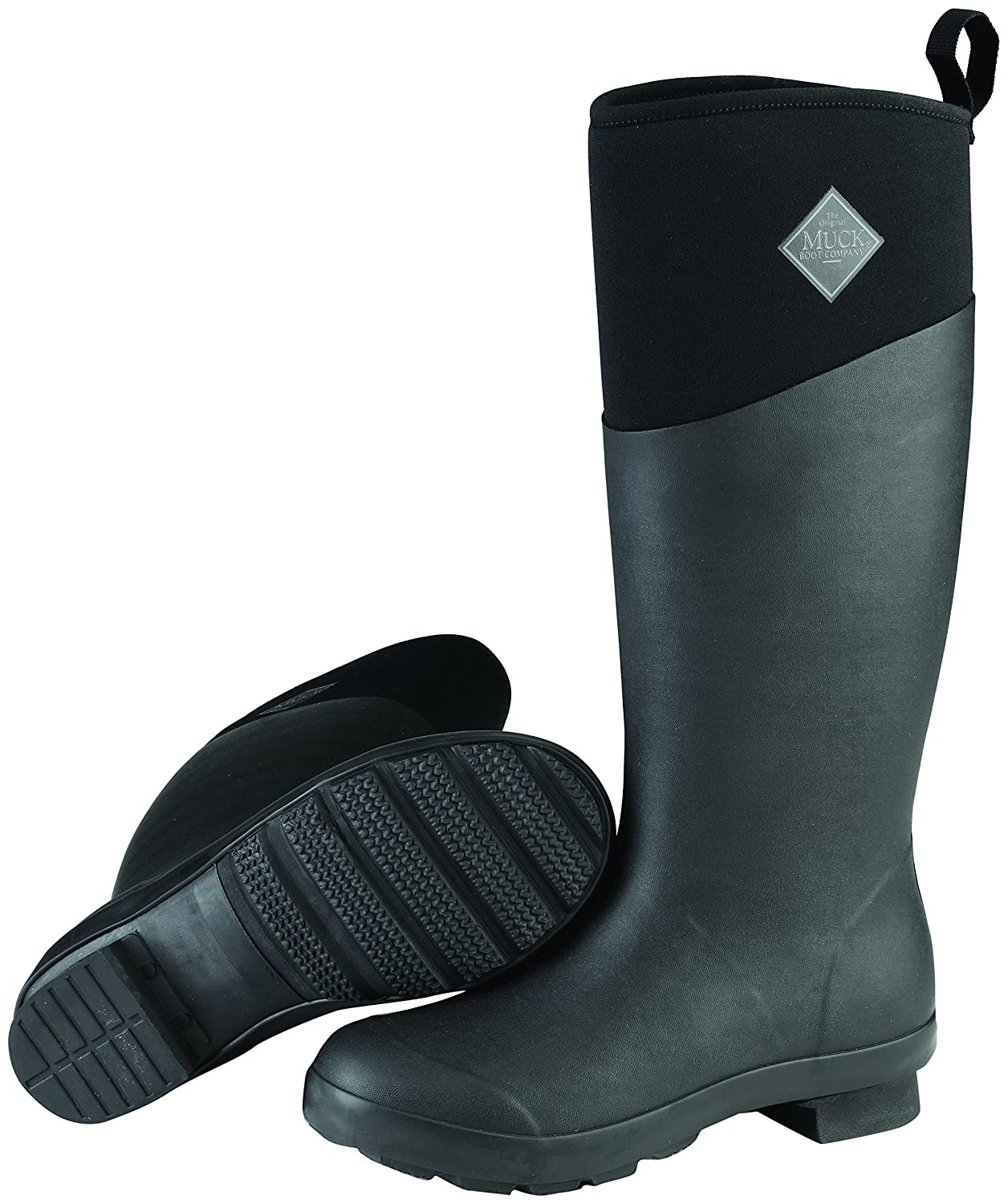Muck Boot Women's Tremont Wellie Tall Snow B01J5ZZ95Q 6 B(M) US|Black