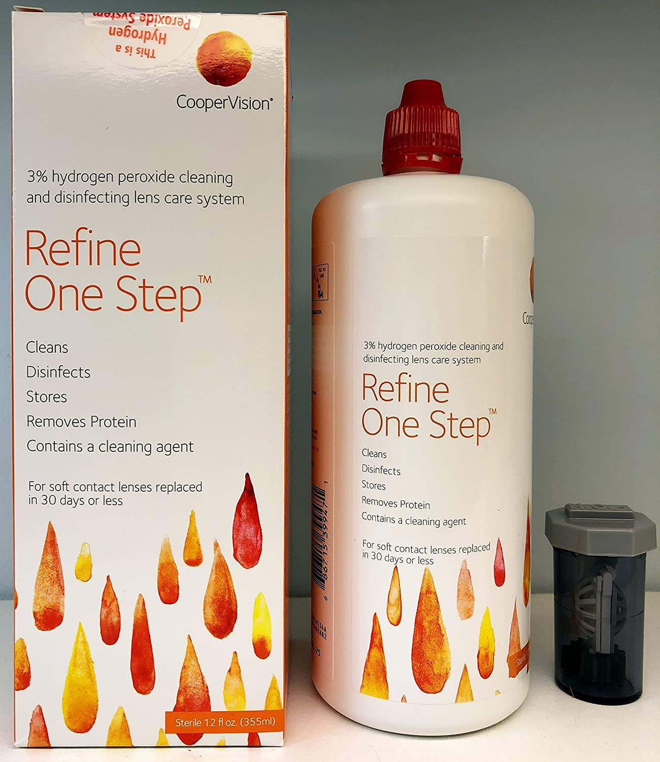 Refine One Step - Hydrogen Peroxide Solution (12 Fl. Oz)