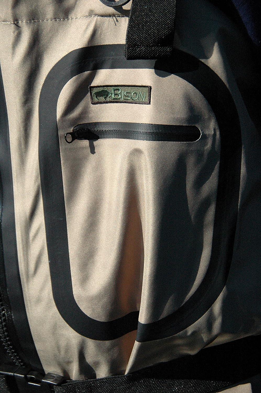 Bison/ /Vadeador pie calcet/ín de Cremallera Frontal.