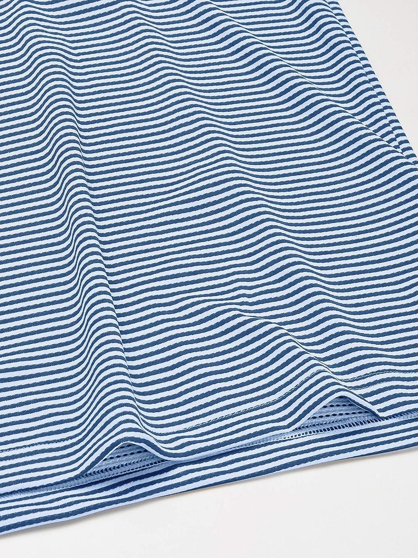 adidas - Heat.rdy Striped Polo Shirt, Polo Uomo Blu Glory / Bianco