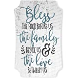 Bless The Food Before Us And The Family Beside Us Distressed Sign 12x8