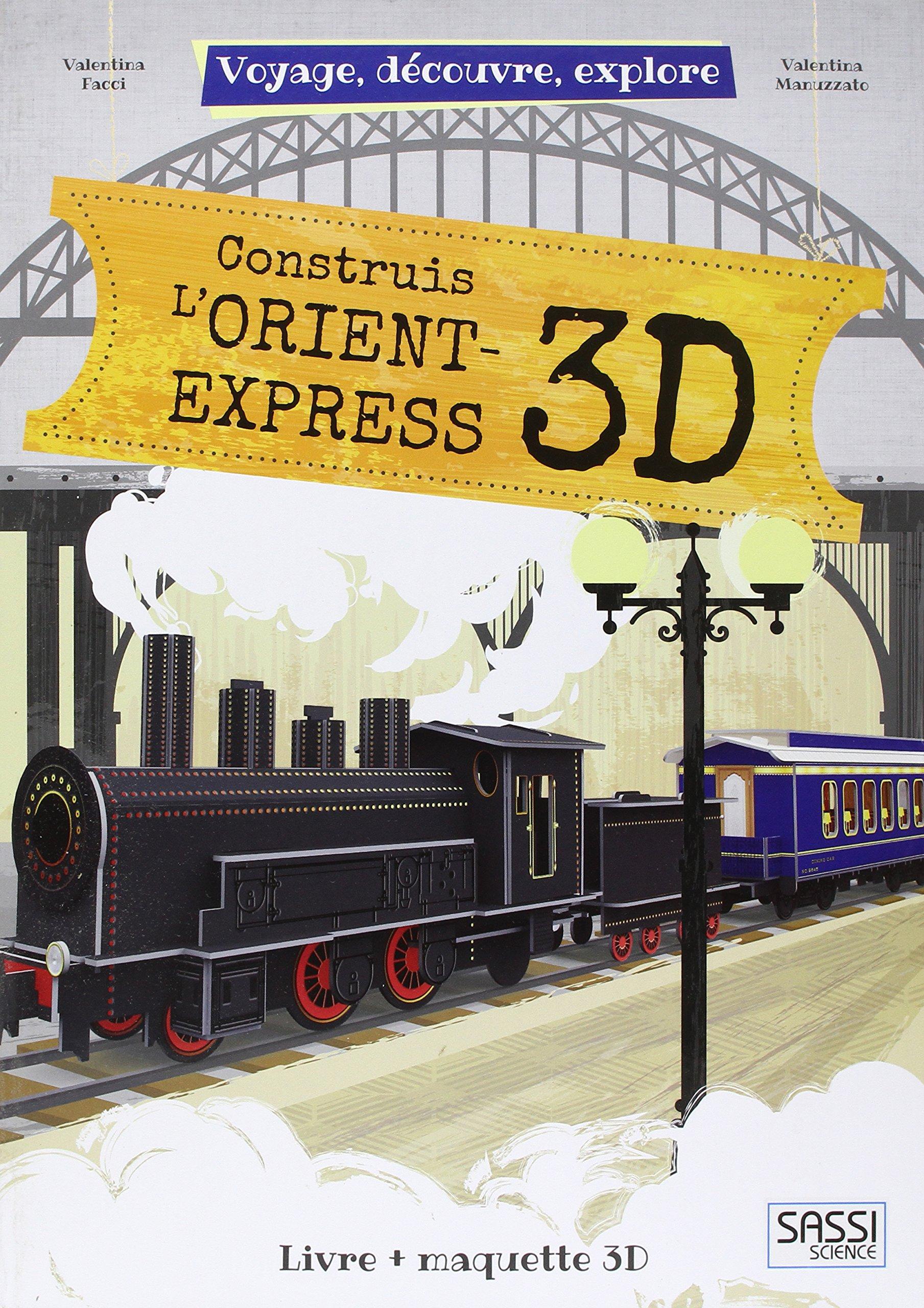 Construis l'Orient Express 3D