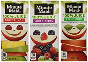 Minute Maid Juice Box, Variety Pack, 6 Fluid Ounce