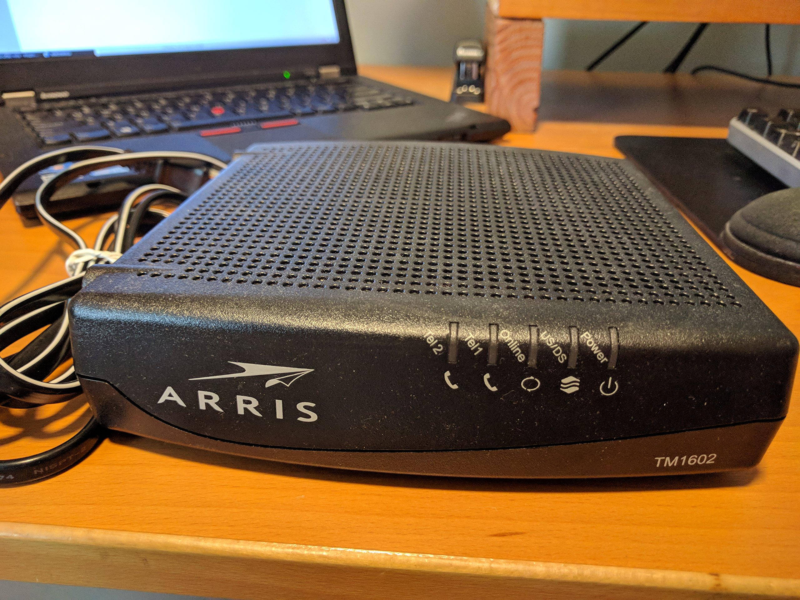 Arris Touchstone TM1602A DOCSIS 3 0 Upgradeable 16x4 Telephony Modem for  TWC & OPTIMUM - Broadbandcoach