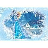 DISNEY LICENCE 835P8 Disney Frozen La Reine des Neiges Elsa Papier Peint pour Chambre d'Enfants Multicolore 368 x 254 cm