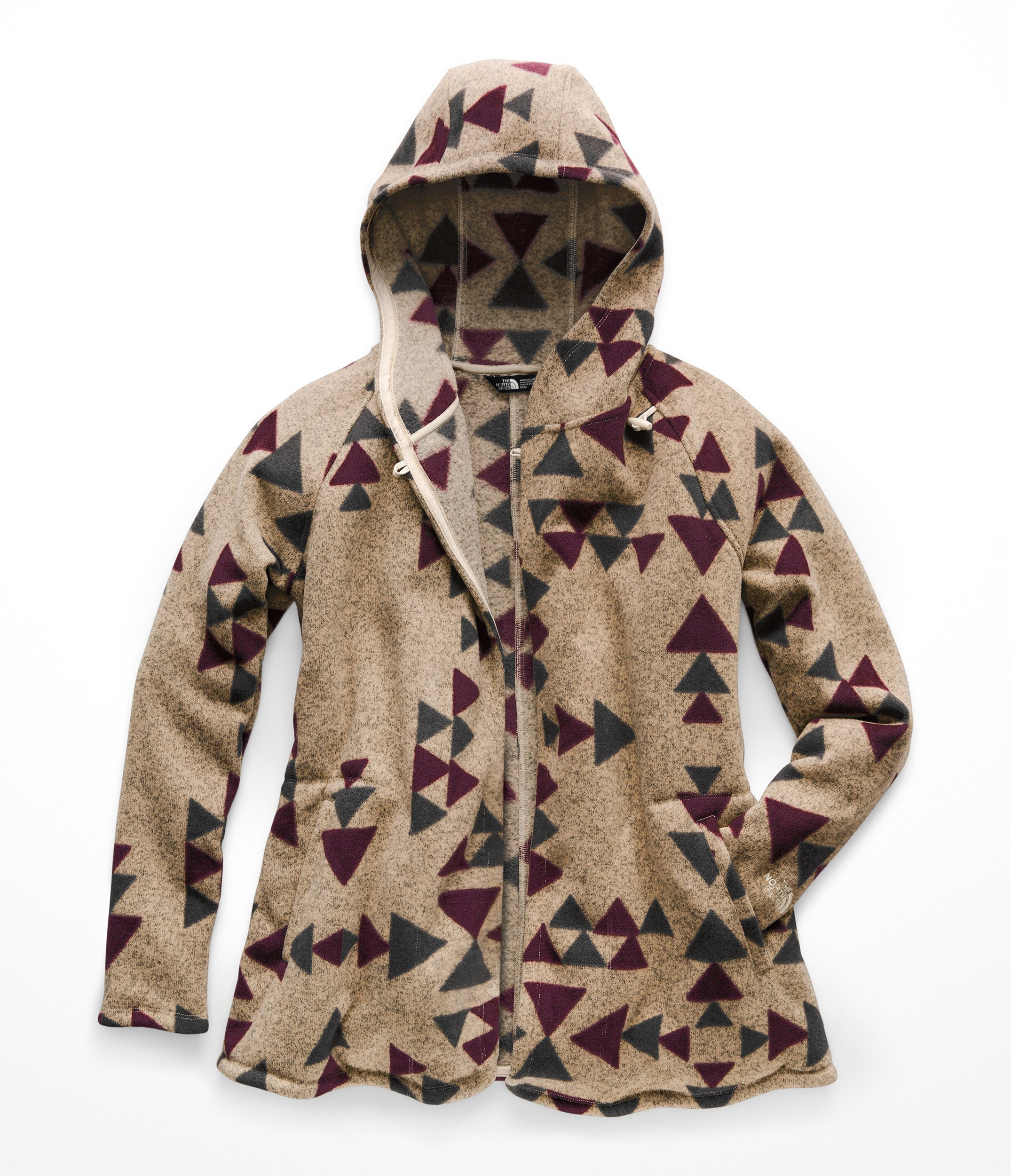 The North Face Women's Crescent Wrap - Peyote Beige Aztec Print - S