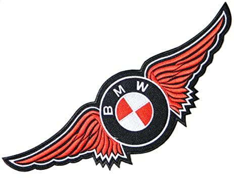 Amazoncom BMW Wings Logo Sign Mortorcycle Motorrad Car Lady - Car sign with wings