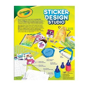 Crayola sticker design studio sticker maker gift for kids ages 8 9 10 11 12 craft kits amazon canada