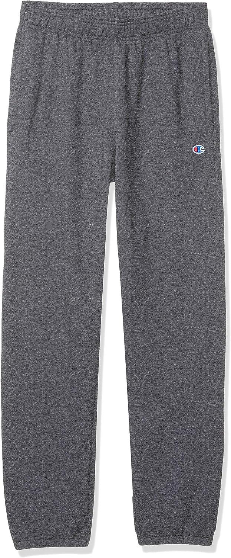 Champion Mens Fleece Relaxed Bottom Pant Sweatpants