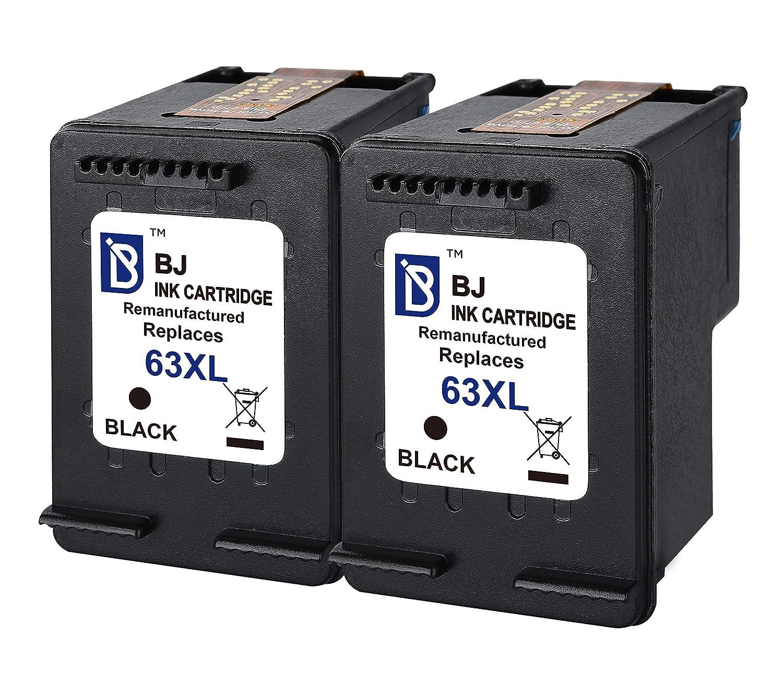 5PK 63XL Black Ink Cartridges for HP Deskjet 1110 1112 2130 3630 3632 3634 3636