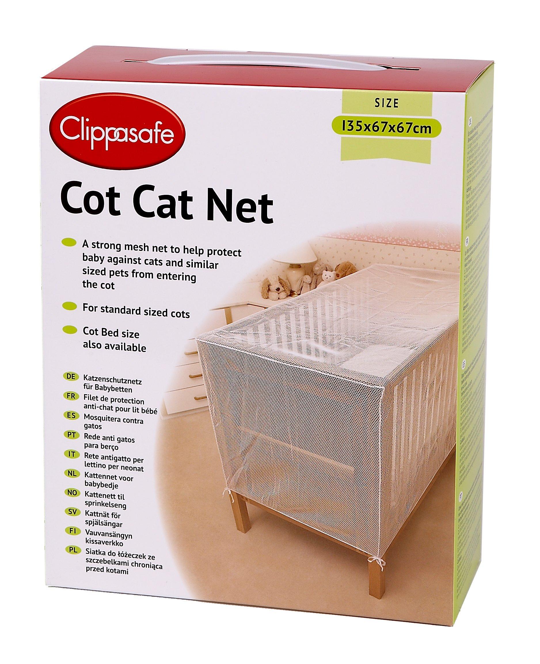 Clippasafe Cot Cat Net - 135 X 67 X 67cm