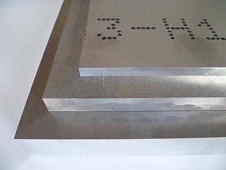 Plaque Alu Embouti Blank naturel D/écoupage sur mesure 5083 B /& T Panneau en aluminium m/étal 8/mm d/épaisseur ALM g4,5mn F 28/