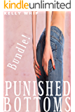 Punished Bottoms: Four Spanking Stories Bundle
