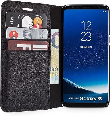 Wiiuka Echt Ledertasche Travel Away Für Samsung Computer Zubehör