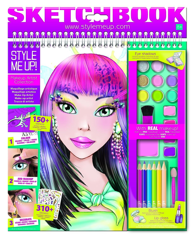 Style Me Up Make-Up Sketchbook