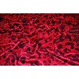 100% Pashmina red Colour Scarf Wrap Stole Throw