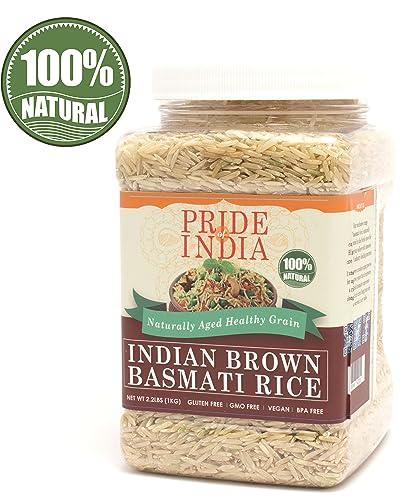 Pride Of India Extra Long Brown Basmati Rice