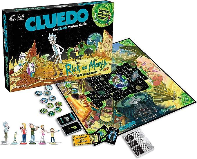 Eleven Force - Cluedo Rick y Morty, Juego de Mesa, Multicolor: Amazon.es: Juguetes y juegos