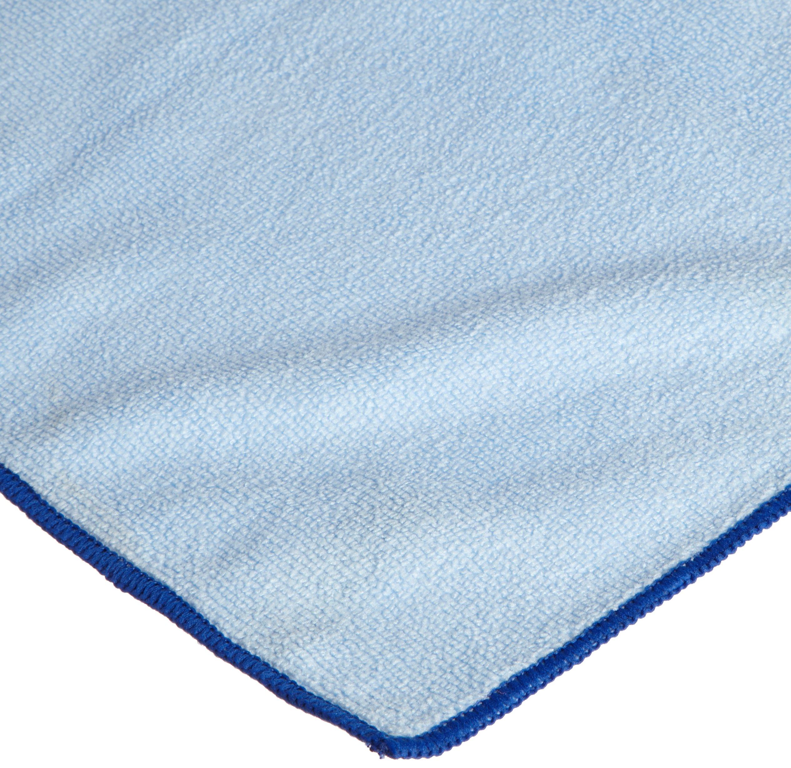 CPI MCLOTH300 B Heavy Duty Microfiber Cloth, 16-Inch x 16-Inch, Blue (Pack of 12)