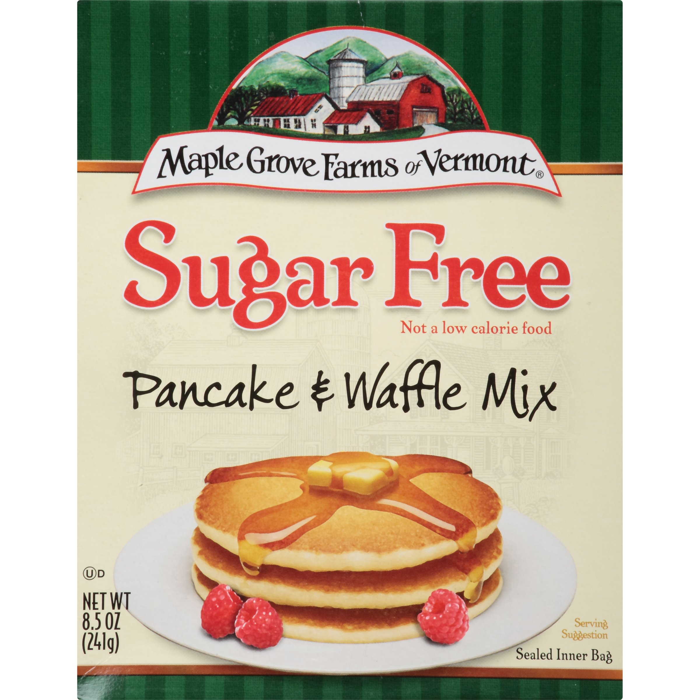 Maple Grove Farms Pancake & Waffle Mix, Sugar Free, 8.5 Ounce