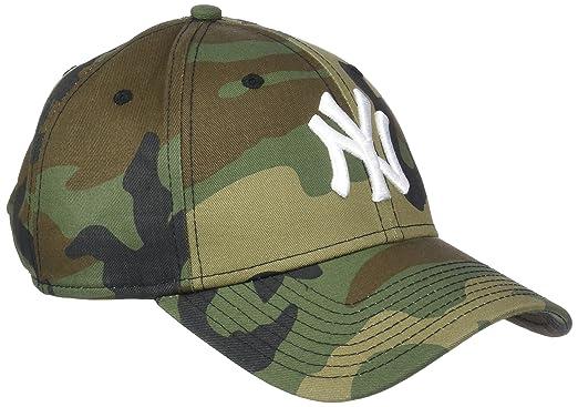 7f306da43 New Era League Essential 940 New York Yankees Woodland Camo/Optic White  9Forty Men's Cap, Camo, FR: one size (Manufacturer's Size: OSFA):  Amazon.co.uk: ...