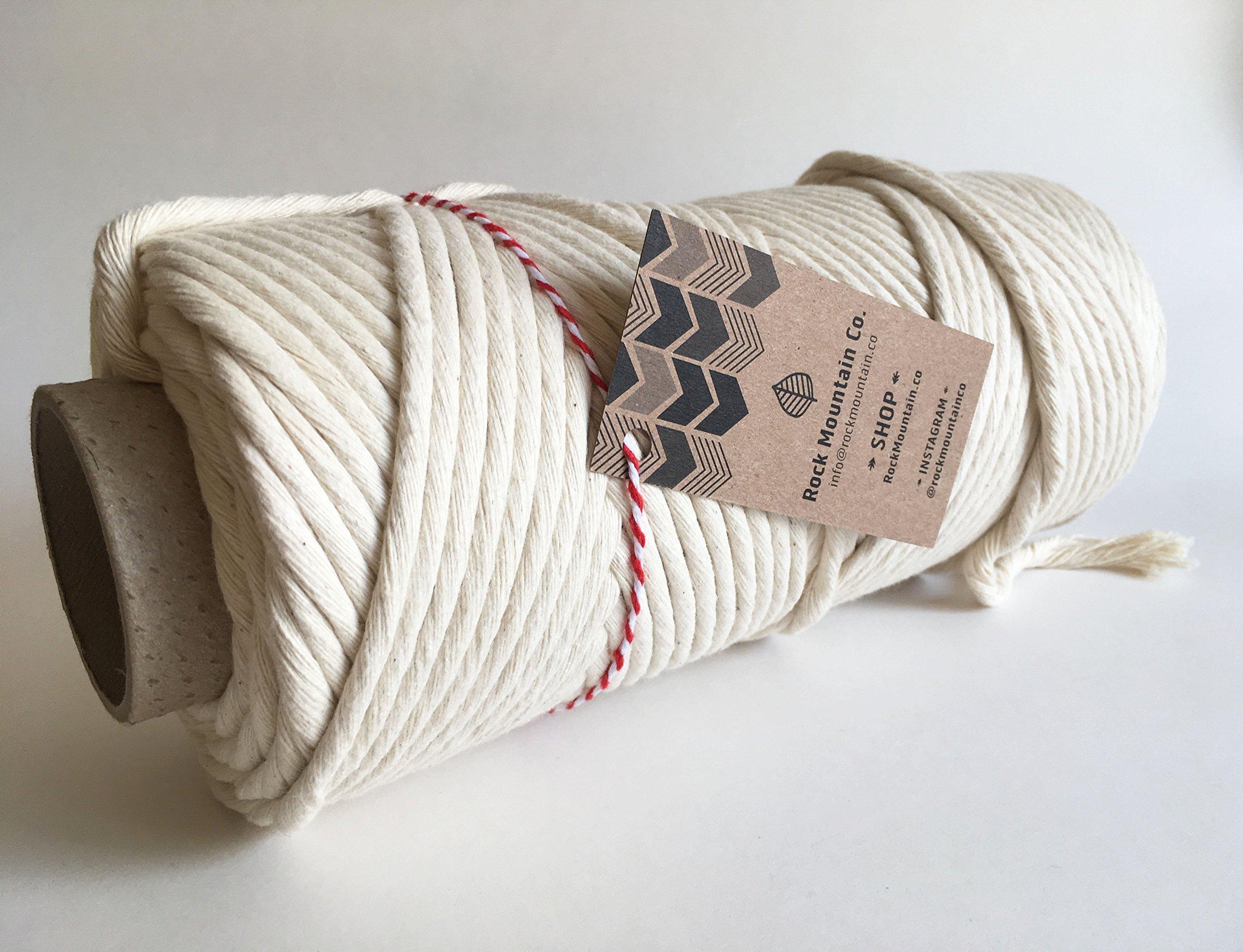 8mm Cotton Macrame Cord/Bulk Knotting Rope