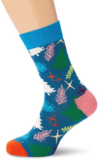 plus récent 7dd04 45ac5 Happy Socks Tree Sock Chaussettes, Femme: Amazon.fr ...