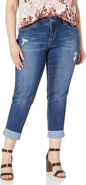 Jag Jeans Womens Carter Girlfriend Jean