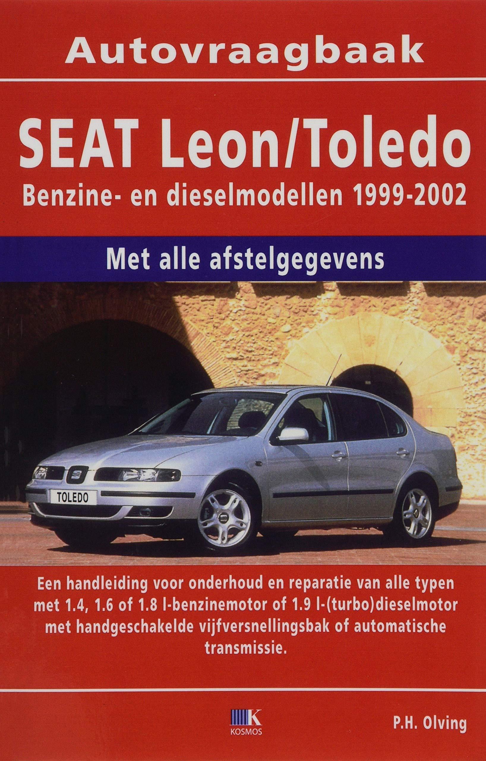 Seat Leon/Toledo benzine/diesel 1999-2002: Amazon.es: P. H. ...