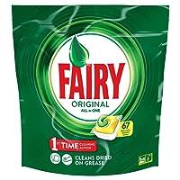 Fairy Original All In One Lemon Dishwasher Tablets 67 Pack