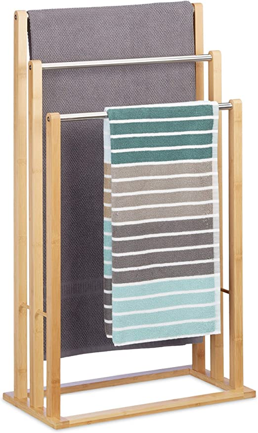 Handtuchstange  Handtuchhalter Bad Handtuchständer Badezimmer Handtuch 55 cm