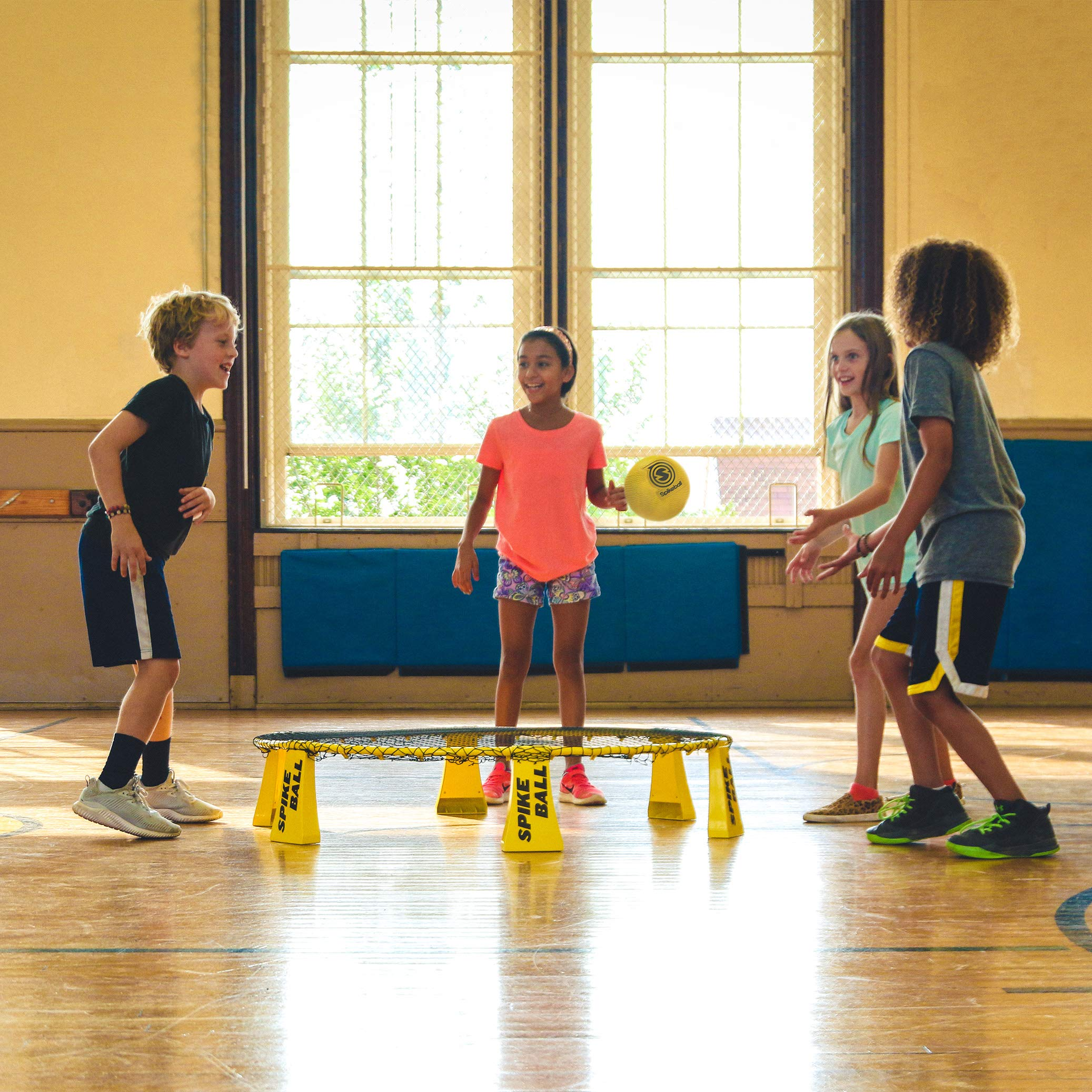 Spikeball Starter Kit - 50% Larger Net and Ball - Played Outdoors, Indoors, Yard, Lawn, Beach - Designed for Kids 12 and Under by Spikeball (Image #5)