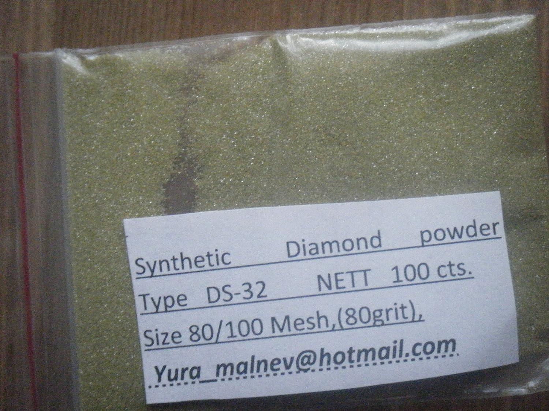 Diamond Powder 80 Grit 180/150 Microns, 50 Carat = 10 Grams TechDiamondTools