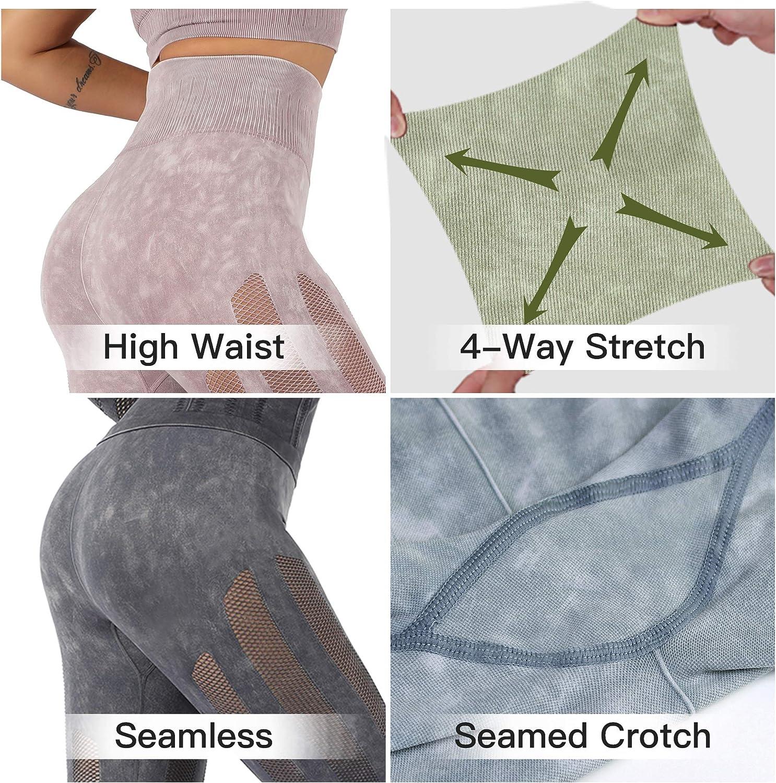 Allover-Muster Leggings Ultra-Hoch taillierte Leggings mit Push-Up Effekt