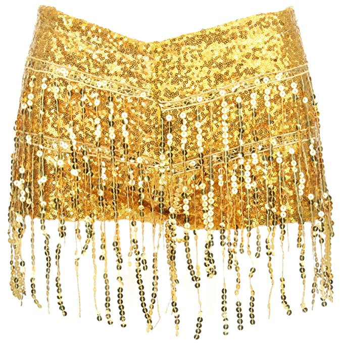 62f694ca Firefly Sequin Tassel Hot Pants: Amazon.co.uk: Clothing