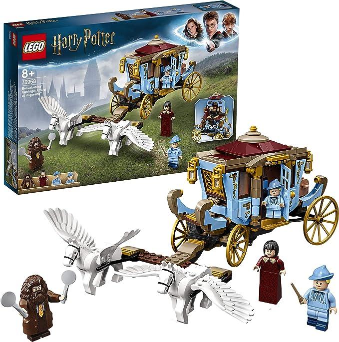 Lego 75958 Harry Potter Kutsche Von Beauxbatons Ankunft In Hogwarts Amazon De Spielzeug